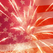 Stock Photo: Independence Day background