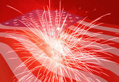 Fourth of July holiday background — Stock Photo