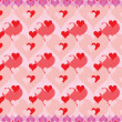 Background for Day of Valentine — Stock Vector
