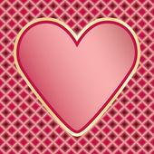 Valentines Day congratulation card — Stock Vector