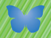 Blue butterfly — Vetorial Stock