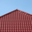 Royalty-Free Stock Photo: Red tiled roof