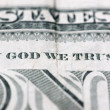 In God we trust - Stock Photo