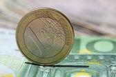 One euro — Stock Photo