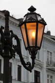 Alight street lamp — Stock Photo