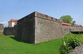 Paredes del castillo — Foto de Stock