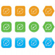 Set of sale icons — Stockvectorbeeld