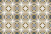 Vintage patroon met hart — Stockvector