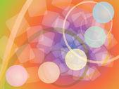 Fondo abstracto espirales — Vector de stock