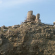 Ruins of Chembalo fortress — Stock Photo