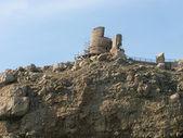 Ruinerna av chembalo fästning — Stockfoto