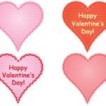 Set of valentines — Stock Vector #31994579