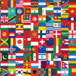 Stock Photo: Flags icons background