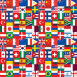 Pattern made of flag icons — Stock Photo #32194347