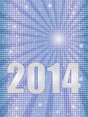 New Year 2014 background — Stock Photo