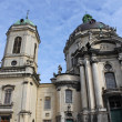 Dominican Church in Lviv — Stock Photo