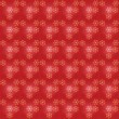 Red seamless Christmas pattern — Stock Vector