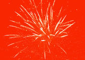 Fond rouge feux d'artifice — Photo