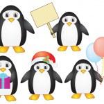 Постер, плакат: Penguins
