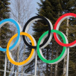 Постер, плакат: Olympic rings