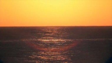 Sunrise timelapse over sea — Stock Video