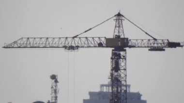 Industrial crane — Stock Video