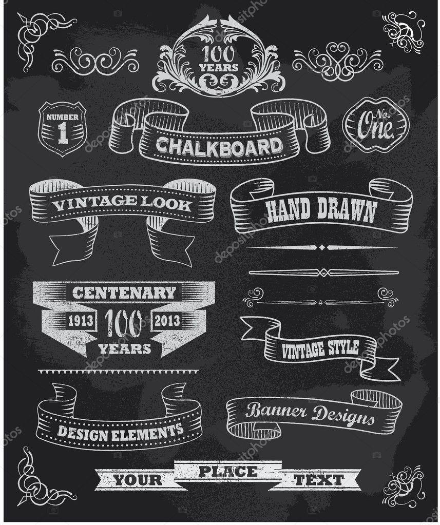 Chalkboard Menu Designs