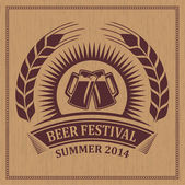 Beer festival icon symbol — Stock Vector