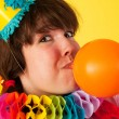 Birthday balloon — Stock Photo