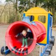 Playing at the playground — Stock Photo