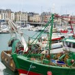 Fishing boats in France — Stock Photo