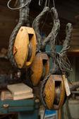 Artisan wood work — Stock Photo