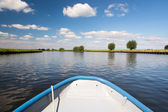 Dutch river the Eem — Stock Photo
