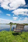 Dutch river the Eem — Stock Photo