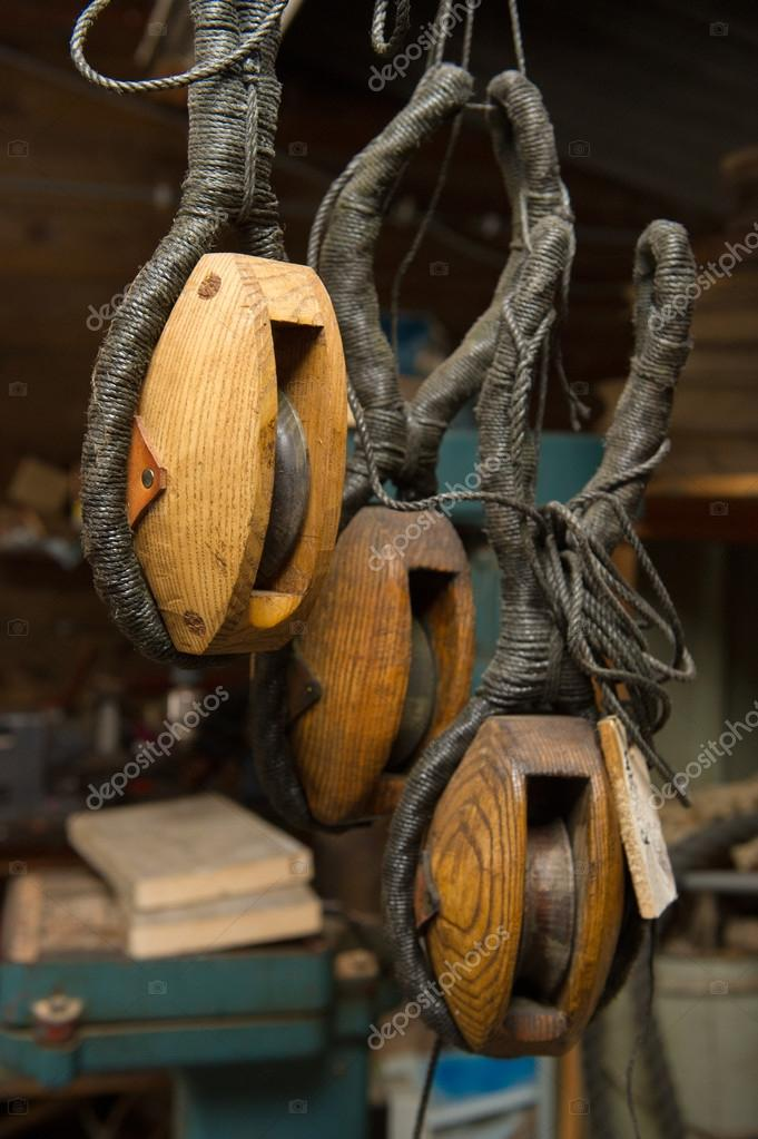 Artisan wood work in old boat — Stock Photo #13273670
