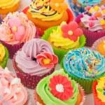 Birthday cupcakes — Stock Photo #13472098