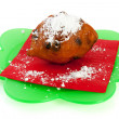 Dutch oliebol — Stock Photo