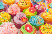 Birthday cupcakes — Foto de Stock