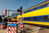 Train passing by — Stock Photo