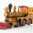 Wooden toy train — Stock Photo #13679732