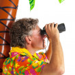 Royalty-Free Stock Photo: Tourist on tropical vacation