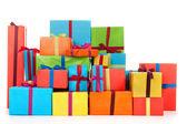 Many presents — Stock Photo