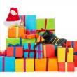 Many Christmas presents — Stockfoto #14224917