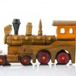 Wooden toy train — Stock Photo #14225187