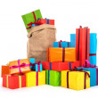 Many presents — Stock Photo #14225323