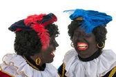 Black Petes with fun — Stock Photo