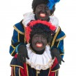 Dutch black pete - Stock Photo