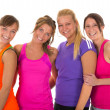 Sport girls — Stockfoto