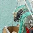 Detail fishing boat - Stock Photo