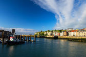 French coast village Dieppe — Stock Photo